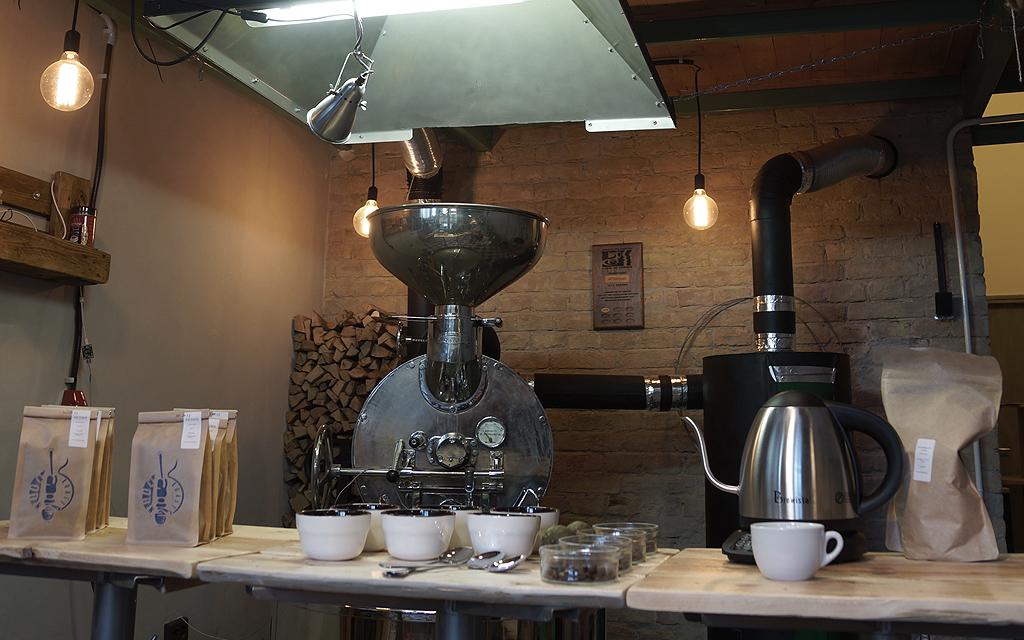 Kávé pörkölő