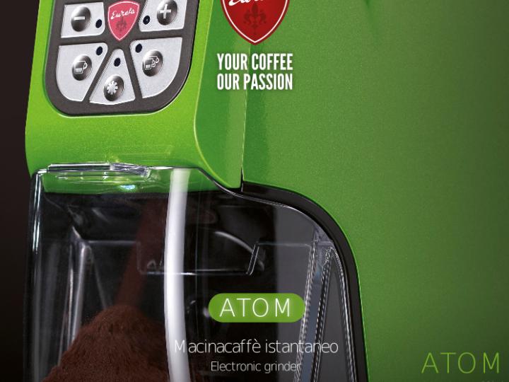 Eureka Atom – a kompakt kávéőrlők új fenegyereke